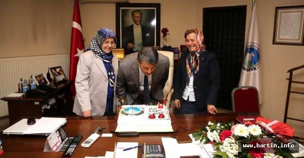 Başkan'a Doğum Günü Sürprizi