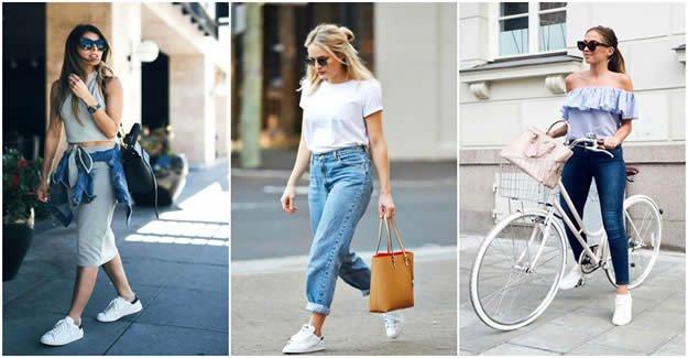Beyaz Spor Ayakkabı Giymenin 10 Yolu