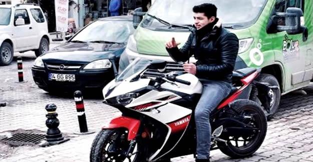 Motosiklet tutkunu genç yaşamını yitirdi