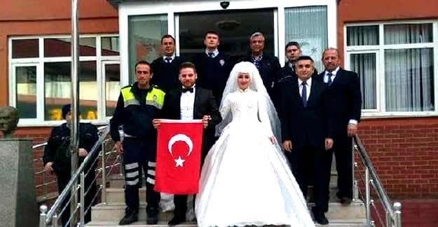 Nikahtan Önce Polislere Ziyaret