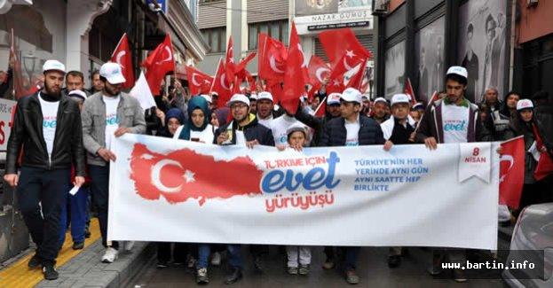 Türkiye İçin EVET Yürüyüşü