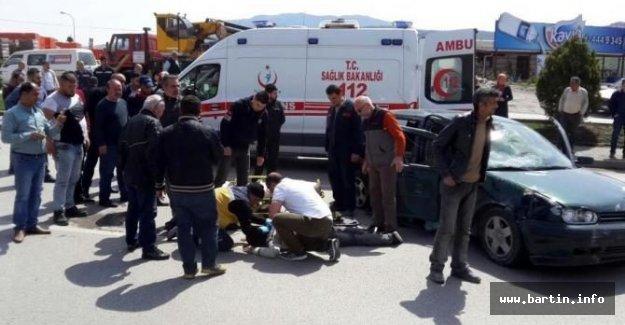 Üniversite öğrencileri kaza yaptı: 4 yaralı
