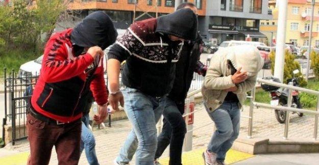 Uyuşturucudan 3 tutuklama