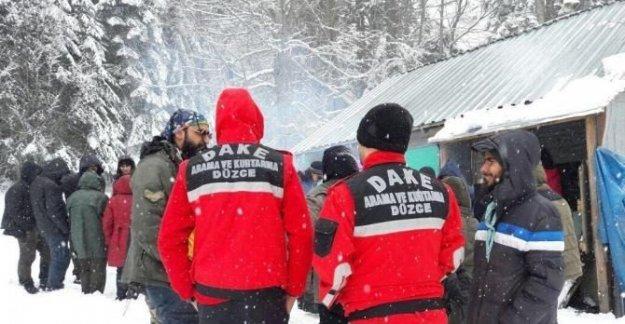 Yaylada mahsur kalan 52 öğrenci kurtarıldı