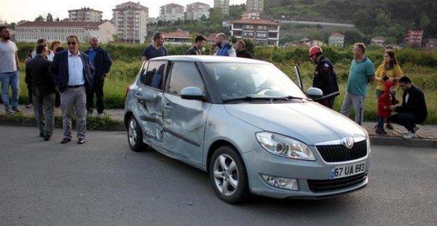Alkollü Sürücü Kazaya Neden Oldu: 4 yaralı