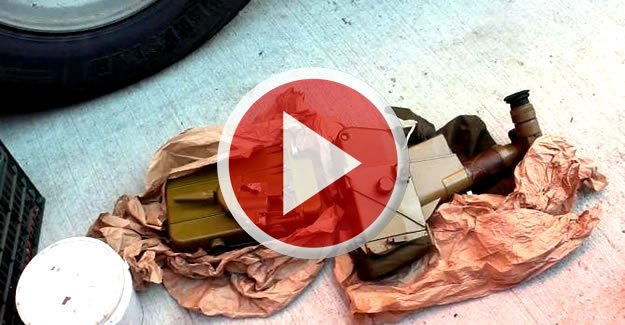 Bebek Bezi Dediler, Anti-tank Füzesi Çıktı