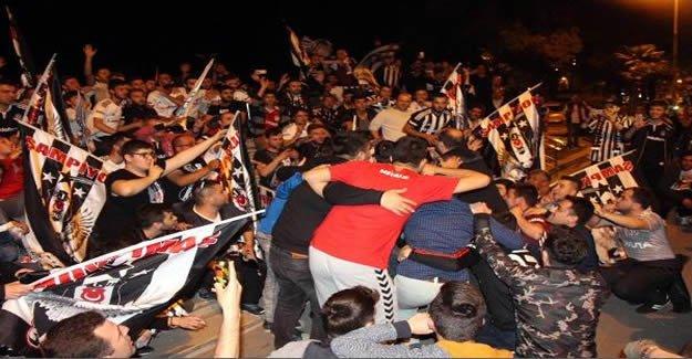 Beşiktaş'ın Şampiyonluğu Kutlandı