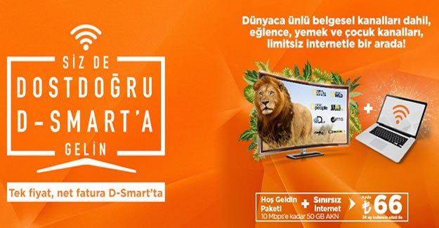 D-Smart İle Yüksek Hızda Sorunsuz İnternet