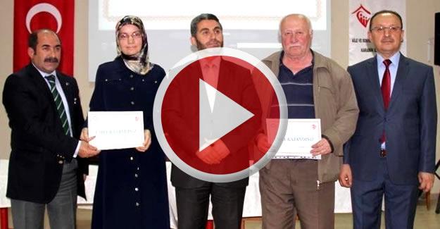 Huzurevinde Umre ödüllü bilgi yarışması
