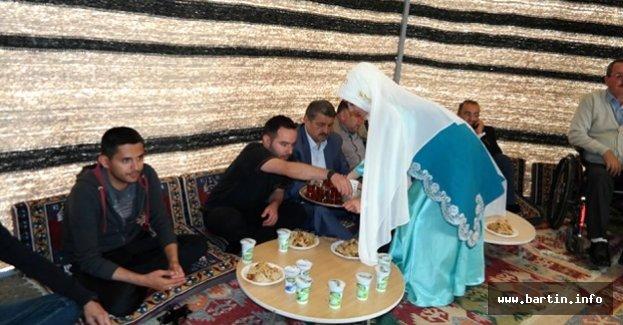 Karaçay'da Oba Çadırları Kuruldu