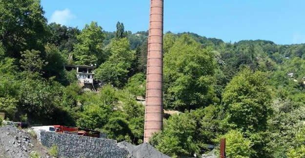 Koruma altındaki 82 yıllık fabrika bacası restore edilecek