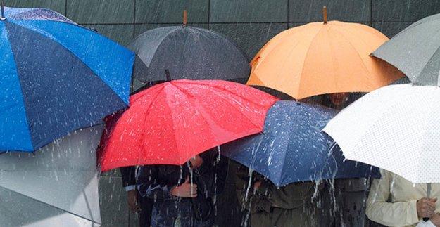 Meteoroloji'den Sağanak ve Dolu Uyarısı