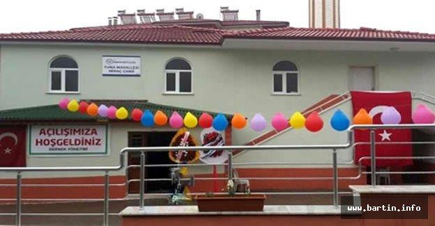 Miraç Camii İbadete Açıldı
