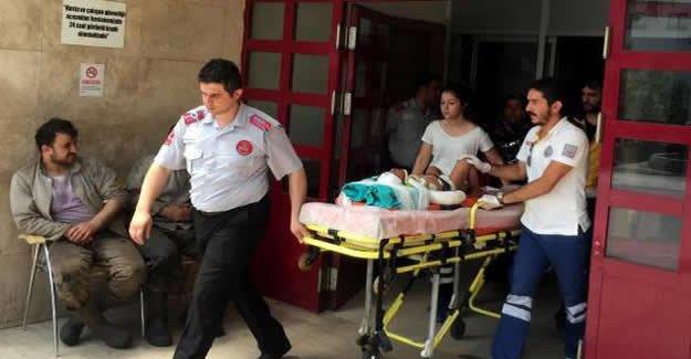 Otomobilin çarptığı 2 yaşındaki çocuk ağır yaralandı