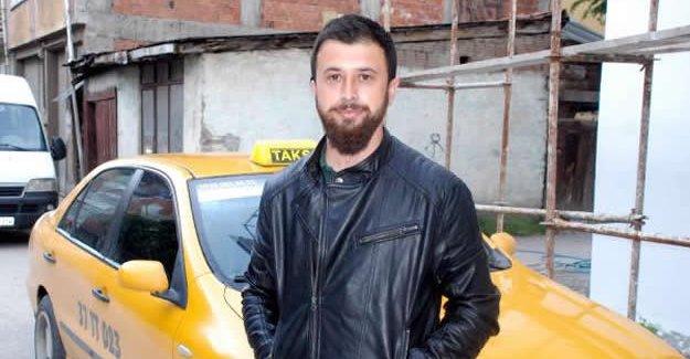Taksisine binen dolandırıcıyı karakola teslim etti