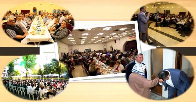 13 bin vatandaş iftar sofrasında misafir edildi