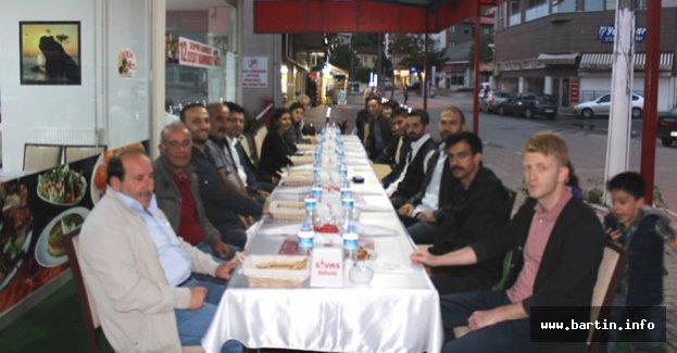 Bartın'da Yaşayan Sivaslılar iftarda buluştu