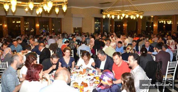 İstanbul'daki Bartınlılar İftarda Buluştu