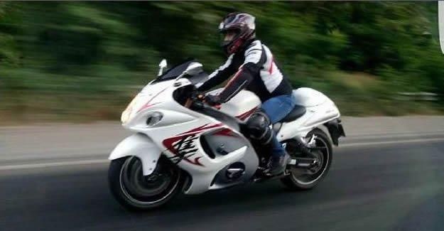 Motosiklet tutkunu kuyumcu kazada hayatını kaybetti
