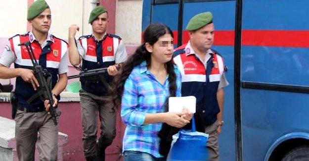 PKK'ya giderken yakalanan üniversiteli kıza 6 yıl 3 ay hapis