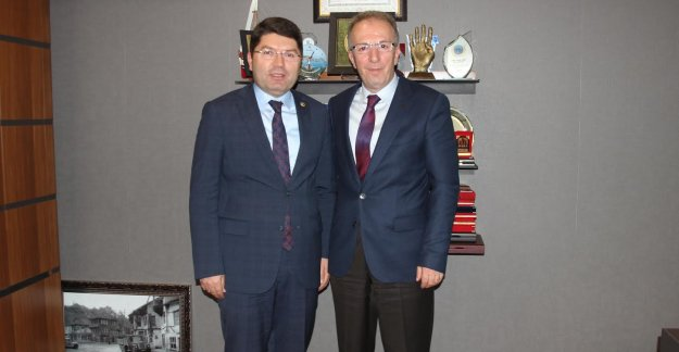 Rektör Uzun'dan Tunç'a Ziyaret
