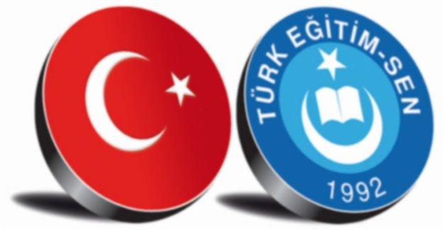 Türk Eğitim Sen Varsa Güven Vardır