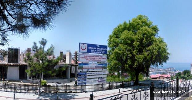 Amasra İlçe Hastanesi Yükseliyor