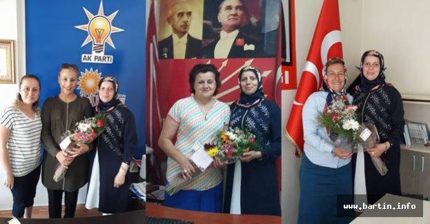 Geredeli'den Partilerin Kadın Kollarına Ziyaret