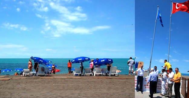 İkinci plaja mavi bayrak