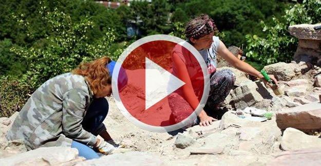 Teion Antik Kenti'nde kazı çalışmaları yeniden başladı