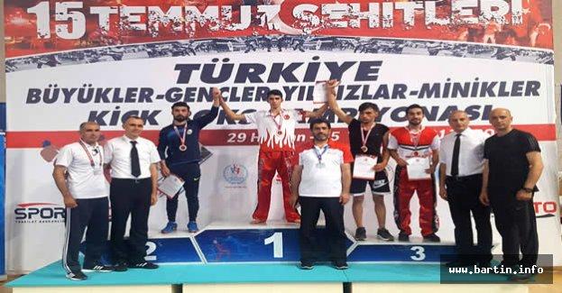 TOKİ'li Arslan Türkiye 3.sü Oldu