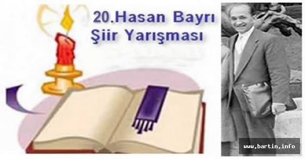 20.Hasan Bayrı Şiir Yarışması Başlıyor