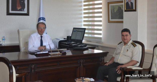 Albay Kapancı'dan Rektör Uzun'a ziyaret