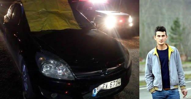 Aracın Ön Camına Sıkışarak Hayatını Kaybetti