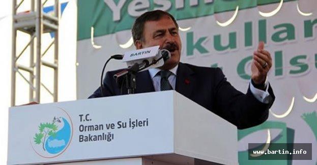 Bakan Eroğlu Yarın Bartın'da
