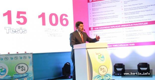 Bartın'a 106 milyon liralık yeni yatırım