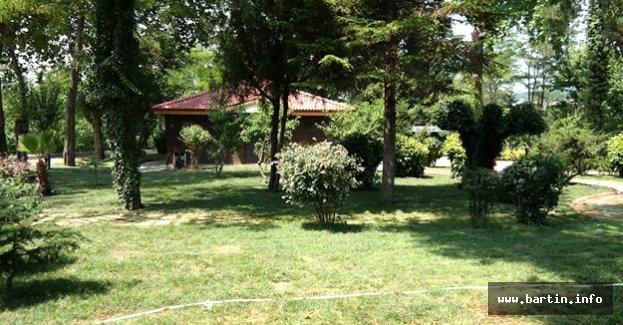 Gazhane Kültür Parkı Yeşillendi