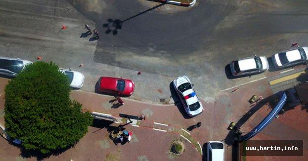 Jandarma'dan Dronelu Trafik Denetimi