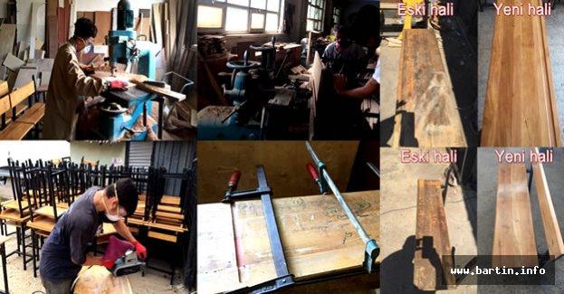 5 Bin Okul Sırası Yenilendi