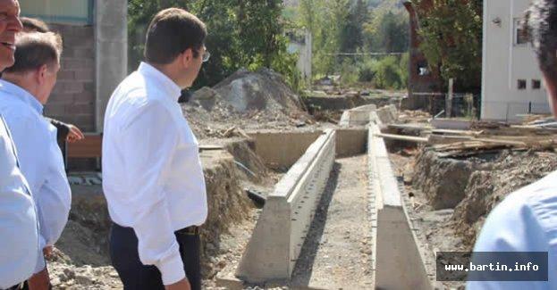 Abdipaşa'da Dere Islahına 8 Milyon TL