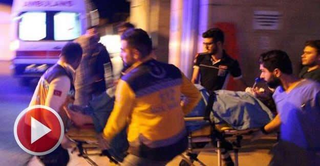 Düğün çıkışı otomobilin çarptığı genç kız ağır yaralandı