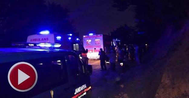 Fındık işçilerini taşıyan minibüs devrildi: 13 yaralı