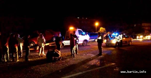 Otomobil Mandaya Çarptı: 2 Yaralı