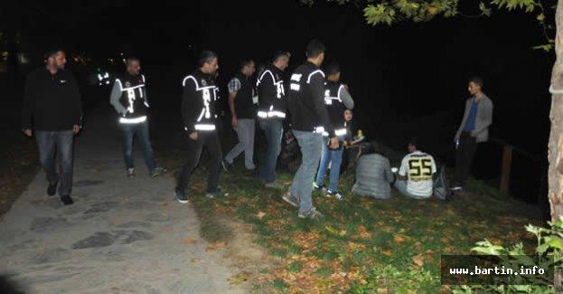 Yalı Parkı'nda Narko Sokak Operasyonu
