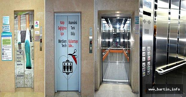 12 Yıllık Asansörler Yenileniyor