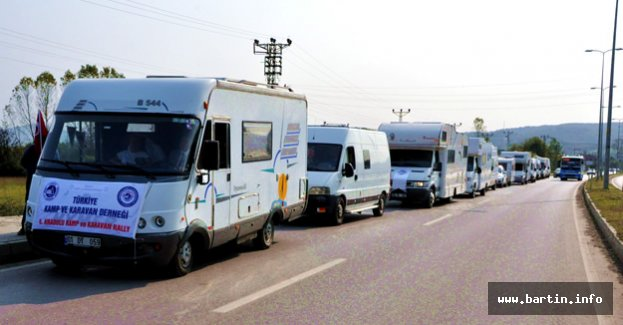 23 Karavan Kamp İçin Bartın'da