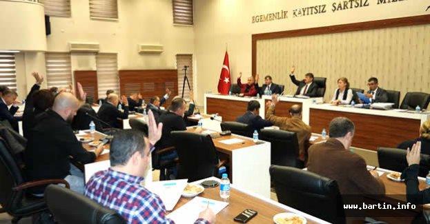 Belediye Meclisi 16 Maddeyi Kabul Etti