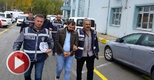 Dolandırıcılar, otelde polis baskınıyla yakalandı