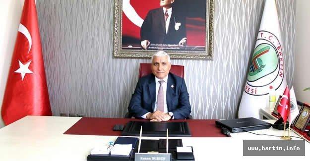 Meclis Başkanı Dursun'dan 29 Ekim Mesajı