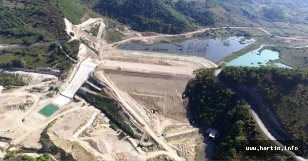 Kozcağız Kışla Barajı 3 Yılda Tamamlandı